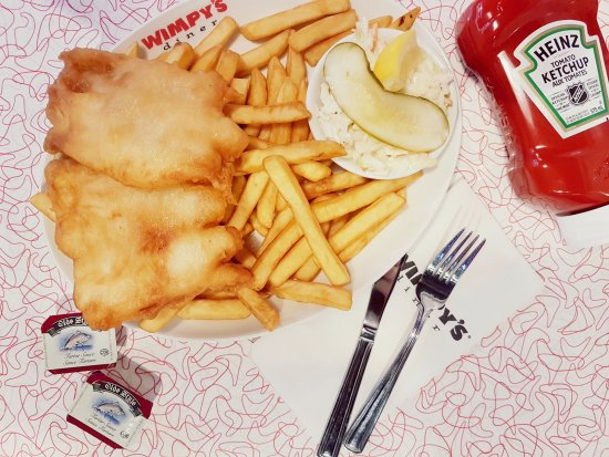 Ориллия, Канада: Fish and Chips!