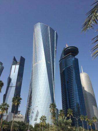 The Corniche : Doha Skyline