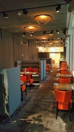 Radisson Blu Plaza Hotel, Helsinki: Executive lounge breakfast area