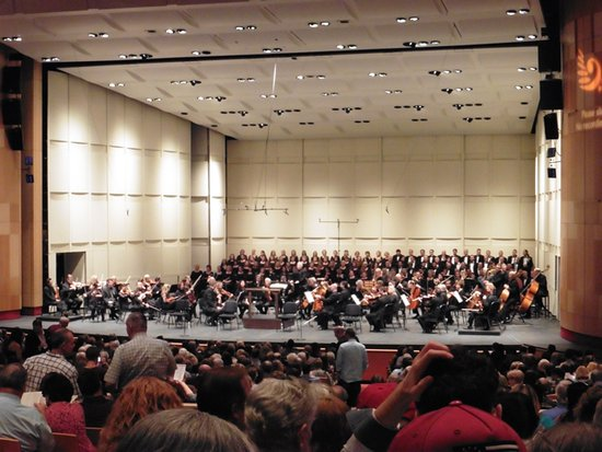 Phoenix Symphony: Readying for Mozart's Requiem.