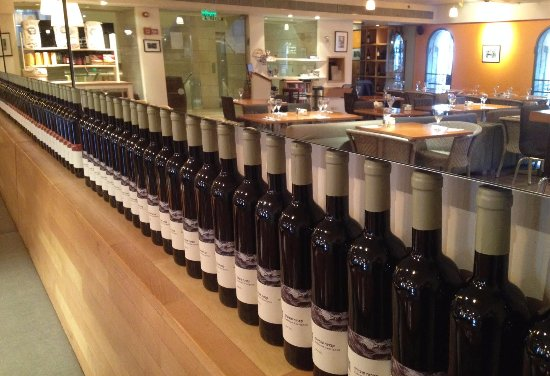 Lavan Restaurant: Wine Shelf