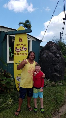 Kilauea, HI: Mitchey and Gabe