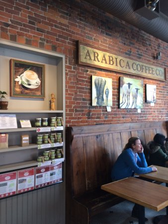 Arabica Coffee House: Sit, sip, and people watch in Portland, Maine