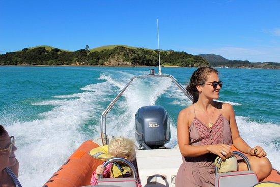 Paihia, Selandia Baru: Great for young families