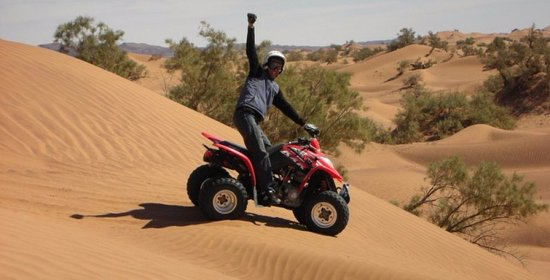 Quad biking in Agadir