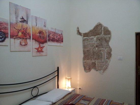 B&B Poseidon: Gemütlich und sehr schön eingerichtet, Bad im Zimmer. Luxus pur