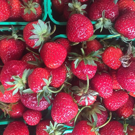 Whitchurch-Stouffville, Canada: Strawberries from our farm. Or Pick Your Own at Reesor's Farm Market.
