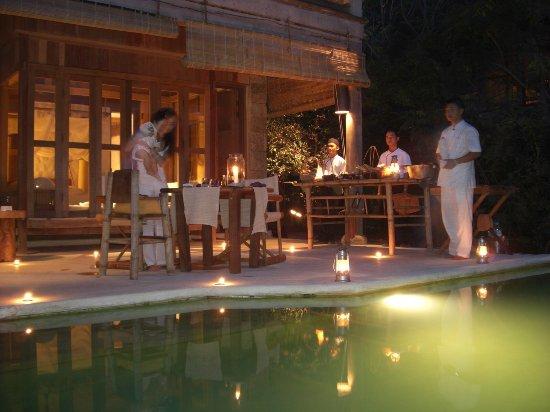 Six Senses Ninh Van Bay: Dinner @resortroom