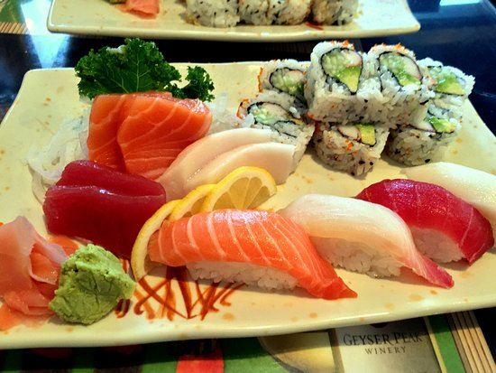Auburn, AL: Sushi Sashimi Lunch Combination