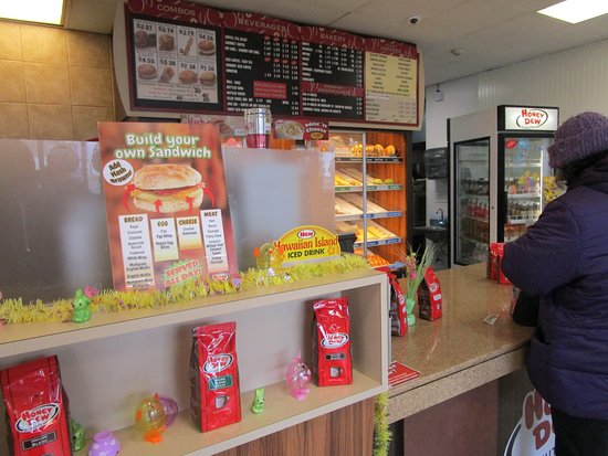 That is me at Honey Dew Donuts in Cranston, R.I.
