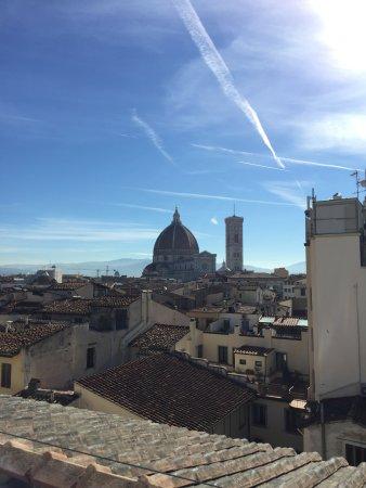 Grand Hotel Baglioni Firenze : breakfast views