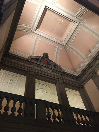 Grand Hotel Baglioni Firenze : stair case
