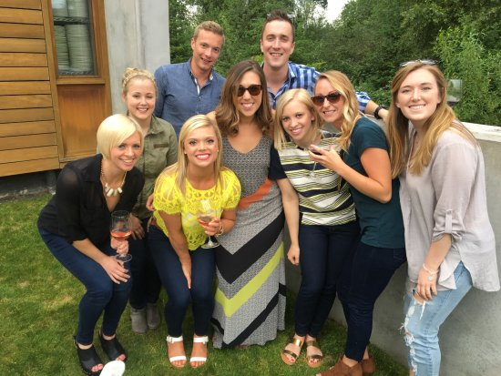 Woodinville, Waszyngton: Birthday party for Wine'd Down Wednesday!