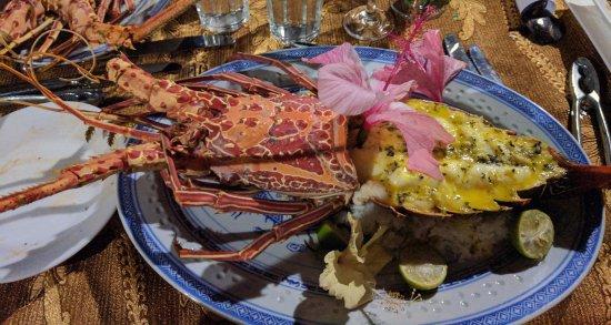 Paradise Taveuni: Lobster special