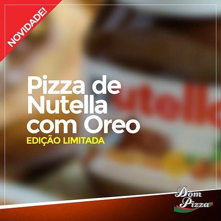 Mogi Mirim, SP: Pizzas Doces que só a Dom Pizza tem.