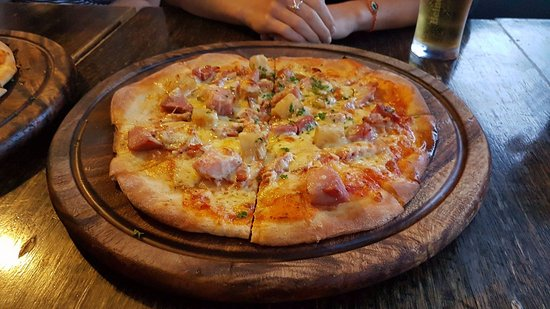 Browns Bay, Nueva Zelanda: Pizza
