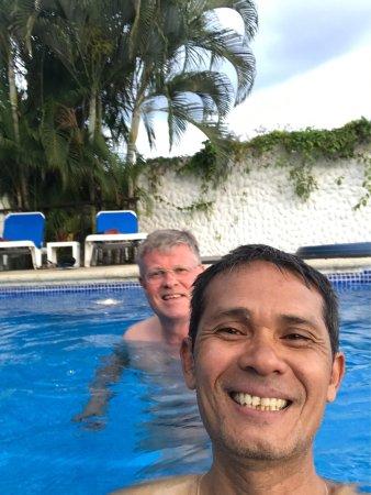 Hotel Villa Roca: Wir sind heute  gekommen .alles sehr schön Tag.wir sind noch zwei Tage hier .wir kommen aus Hint