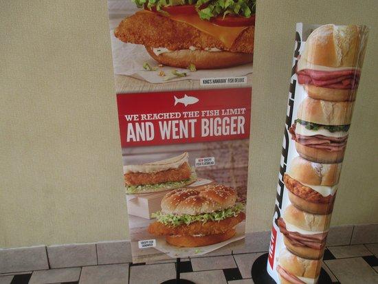 Blaine, MN: Fish Sandwich Ad