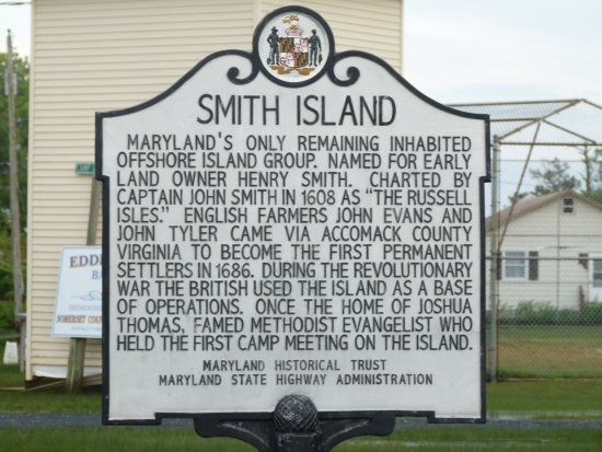 Ewell, MD: History of the island