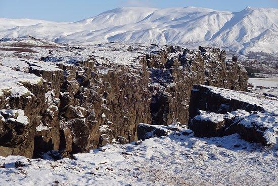 Mosfellsbaer, Iceland: Tectonic plates