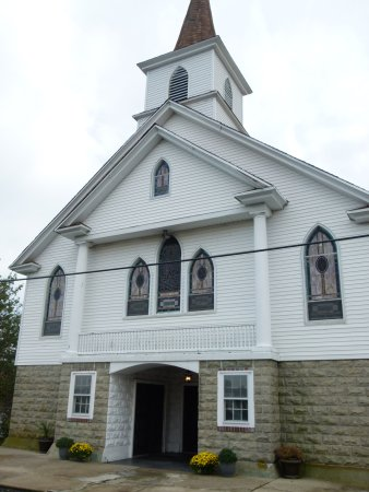 Ewell, MD: Church on the Island