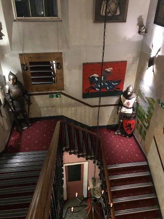 Castle Rock Hostel: Hostel Stairs
