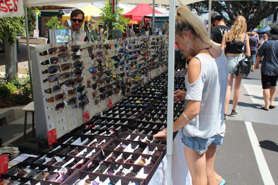 One of the stalls - Picture of Caloundra Street Fair