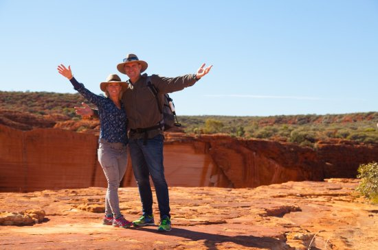 Territorio del Norte, Australia: Rim Walk, Kings Canyon, Watarrka National Park