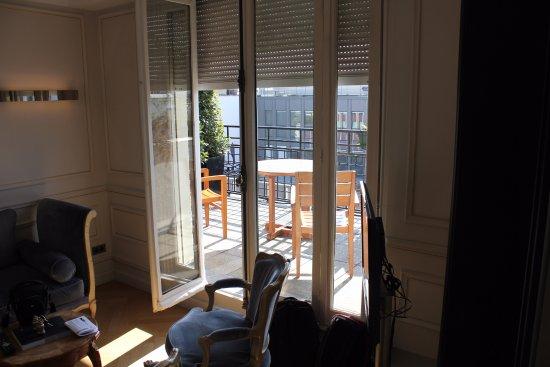 Hôtel Lancaster Paris Champs-Élysées: Room #700 Large Terrace