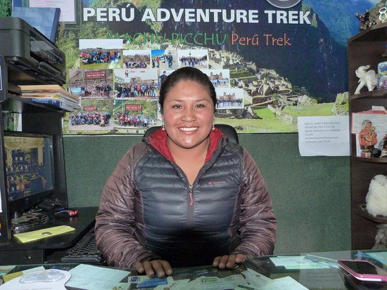 Peru Adventure Trek - Day Tour: jefa de operaciones de Peru adventure trek