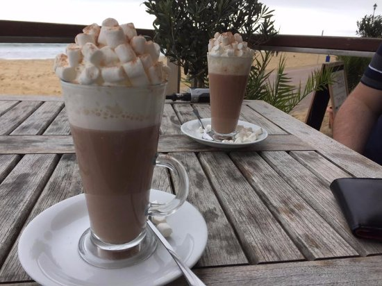 WestBeach: The BEST hot chocolate.