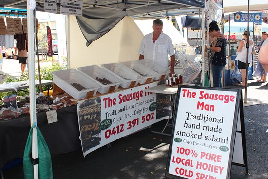 Caloundra, Australien: Plenty of food variety