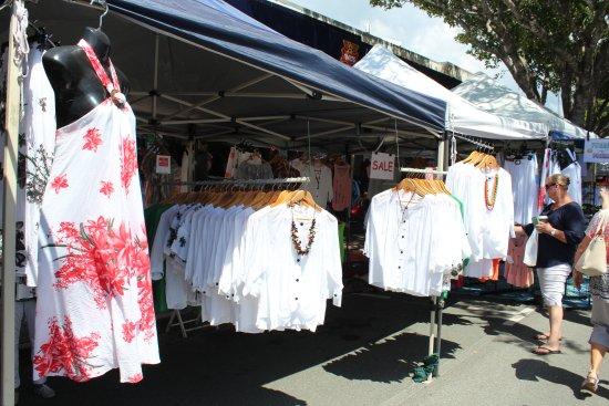 Caloundra, Australien: One of the stalls