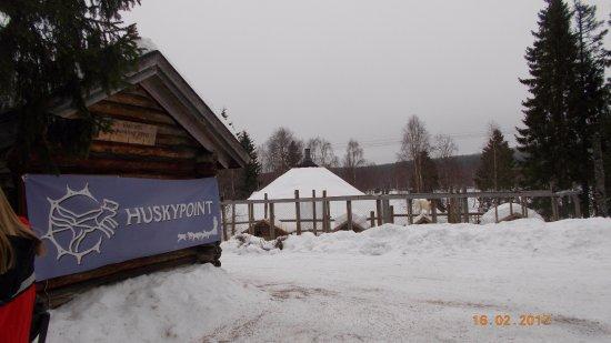 Huskypoint: Entrada del lugar