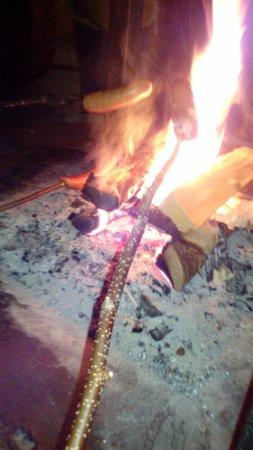 Huskypoint: Cociendo una salchicha al modo lapón