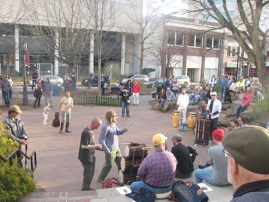 Asheville Drum Circle : Drum Circle