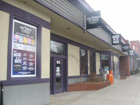 Playhouse Downtown - Flat Rock Playhouse : outside