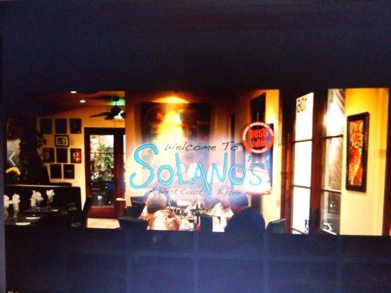 La Quinta, CA: Solano's Bistro