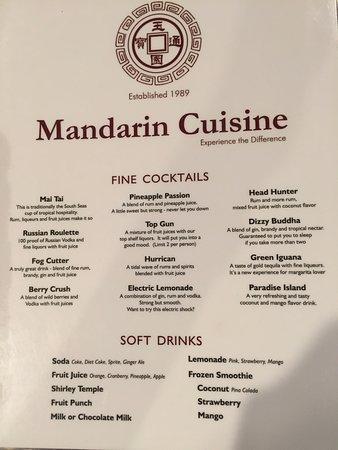Needham, MA: menu
