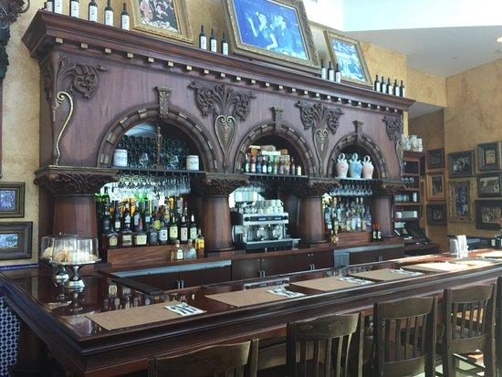 Tampa Bay History Center: old bar