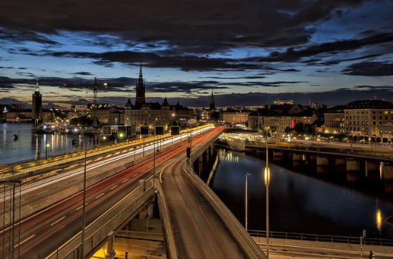 Stockholm By Night: Photography...