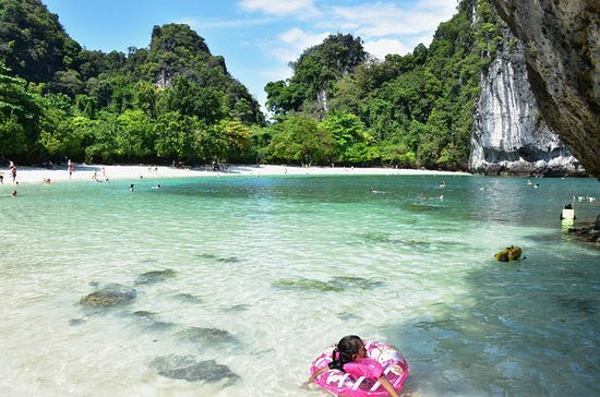 Hong Island Tour by Speedboat from Krabi with Sightseeing and...
