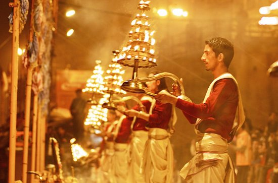 Private Full-Day Varanasi Tour with...