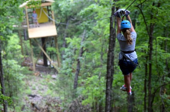 Zipline Tour of the Ozarks