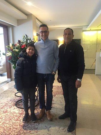 CVK Hotels Taksim : My friends