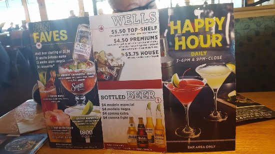 Most Popular Restaurant Happy Hour Deals.