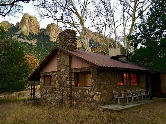 Cave Creek Ranch: Cave Creek Ranch Stone Cabin rental.