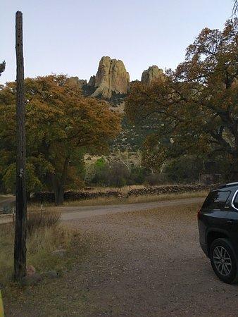 Portal, AZ: Cave Creek Ranch Stone Cabin rental.