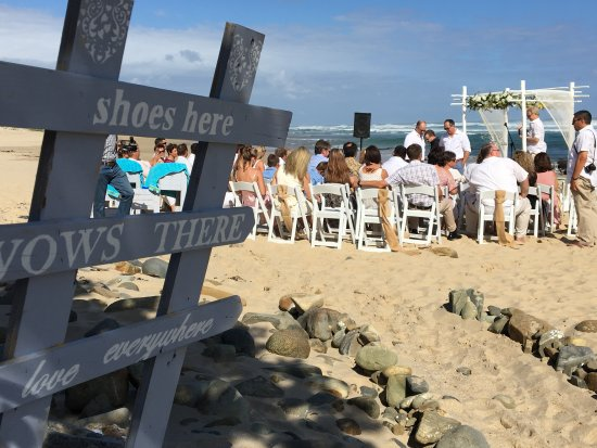 Morgan's Bay, Zuid-Afrika: Beach weddings.