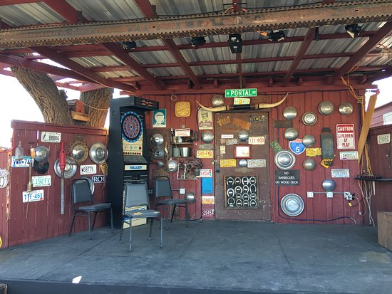 Portal, AZ cafe/store with outdoor stage, etc.